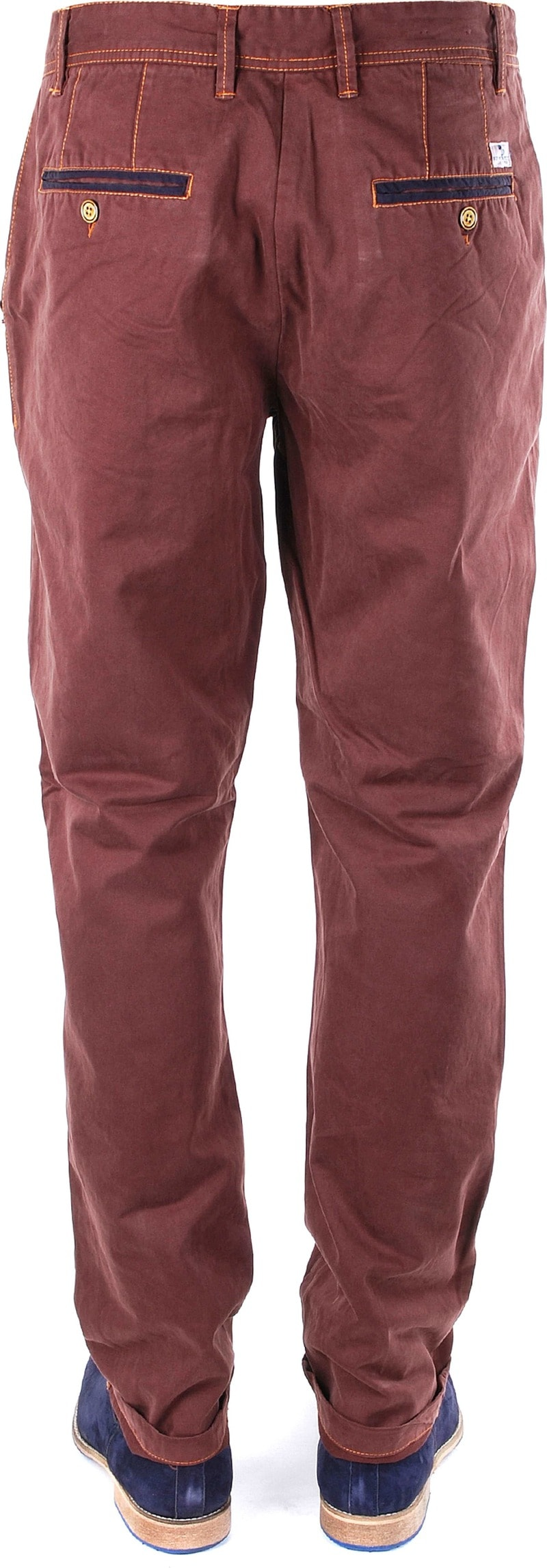 Suitable Herren Chino Sticked Twill Bordeaux