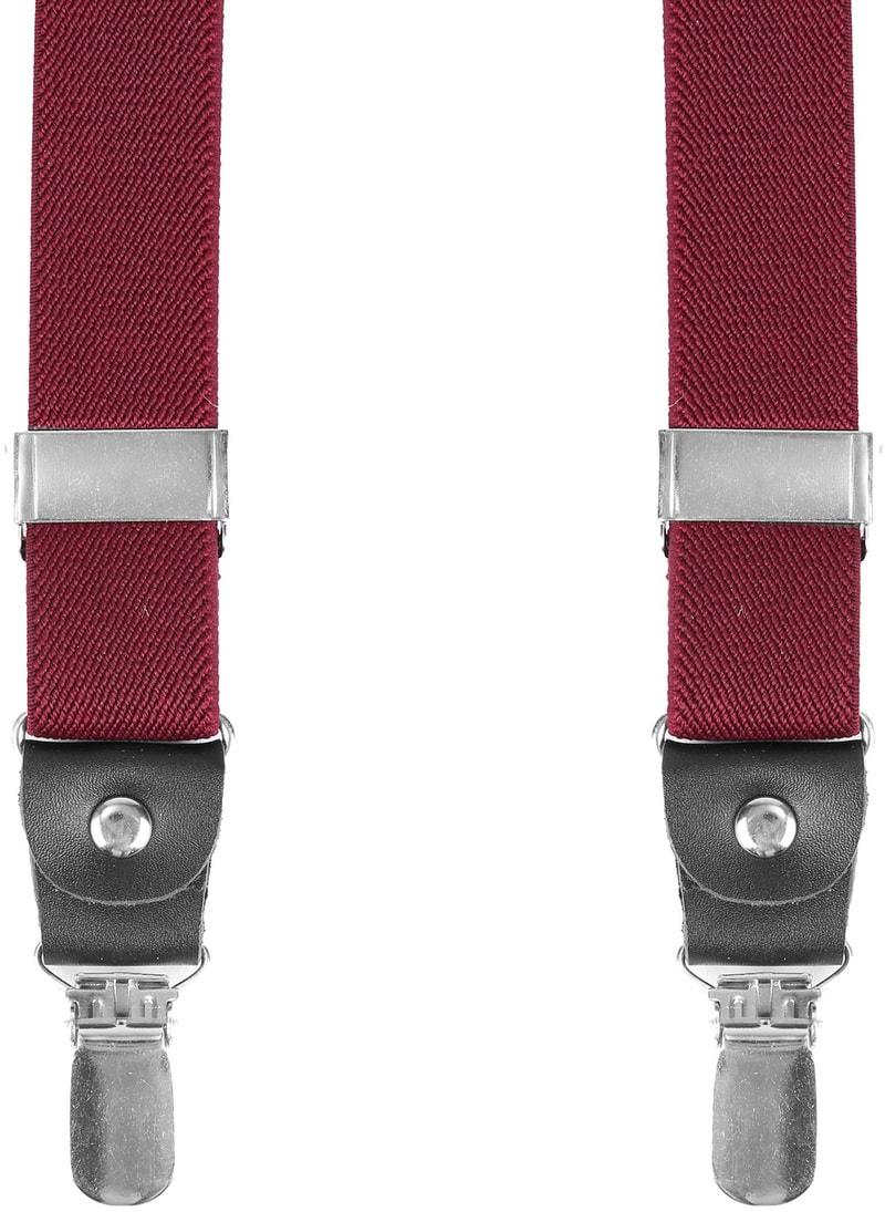 Suitable Hosenträger Bordeaux Rot Foto 0