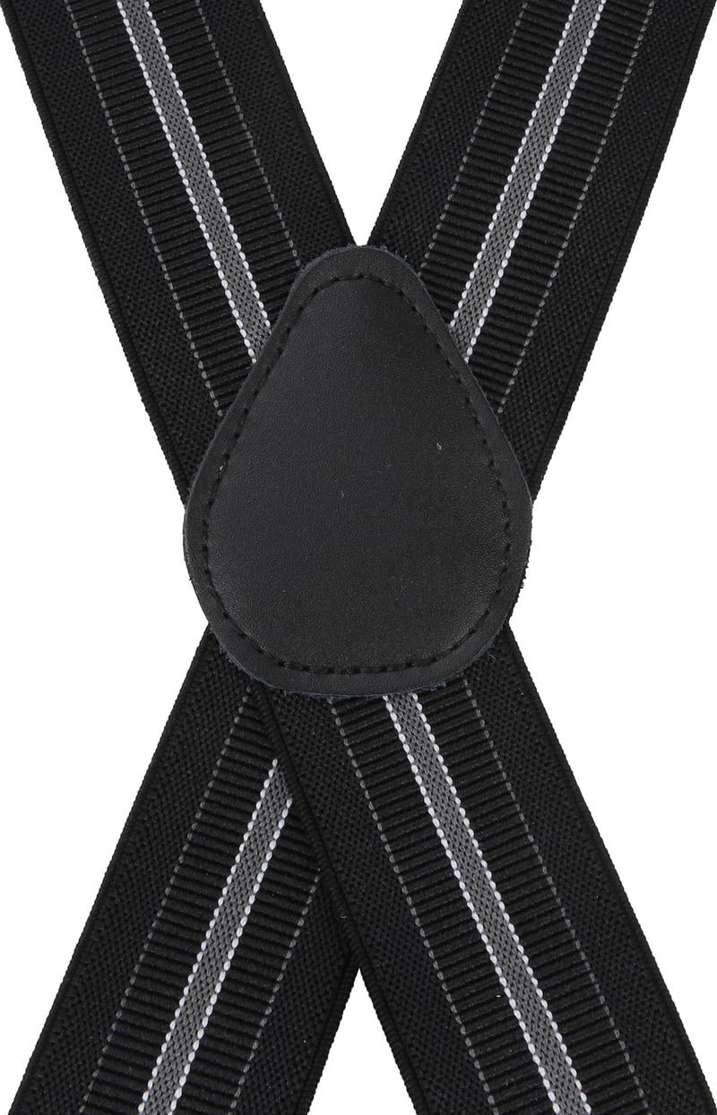 Suitable Hosenträger Streifen Schwarz Foto 2