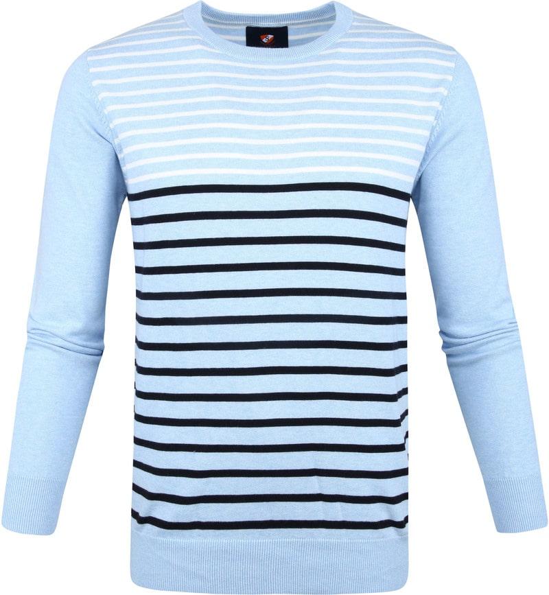 Suitable IAN Pullover Blue photo 0
