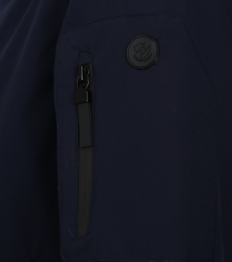 Suitable Jacket Sven Navy photo 3