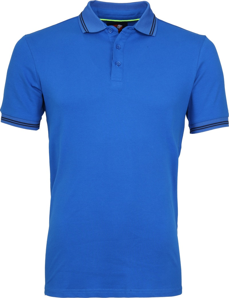 Suitable Jason Polo Stretch Blauw foto 0