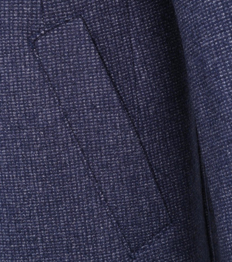 Suitable Kevin Coat Donkerblauw