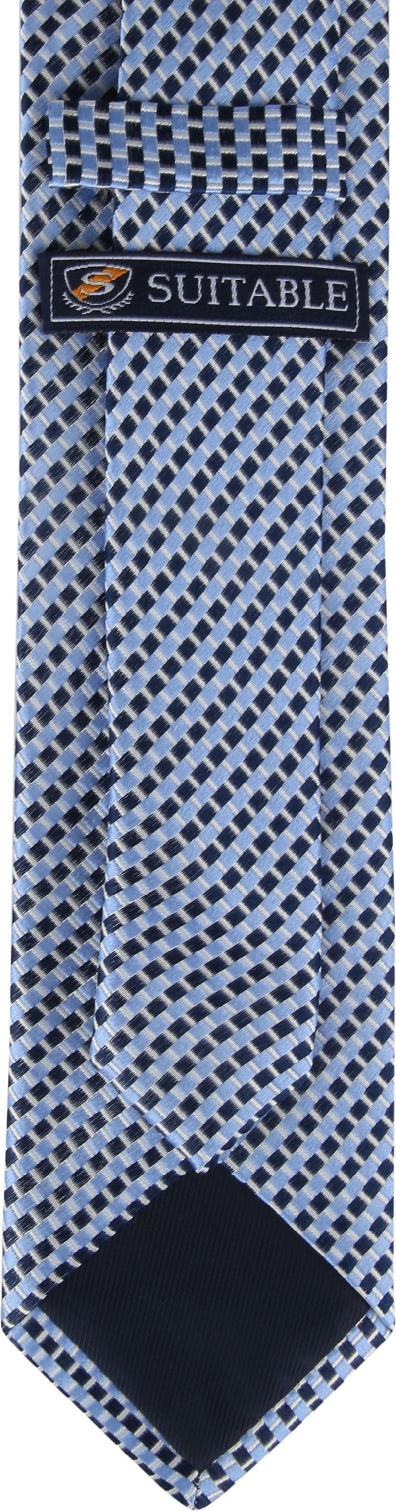 Suitable Krawatte Blau K01-11 Foto 2