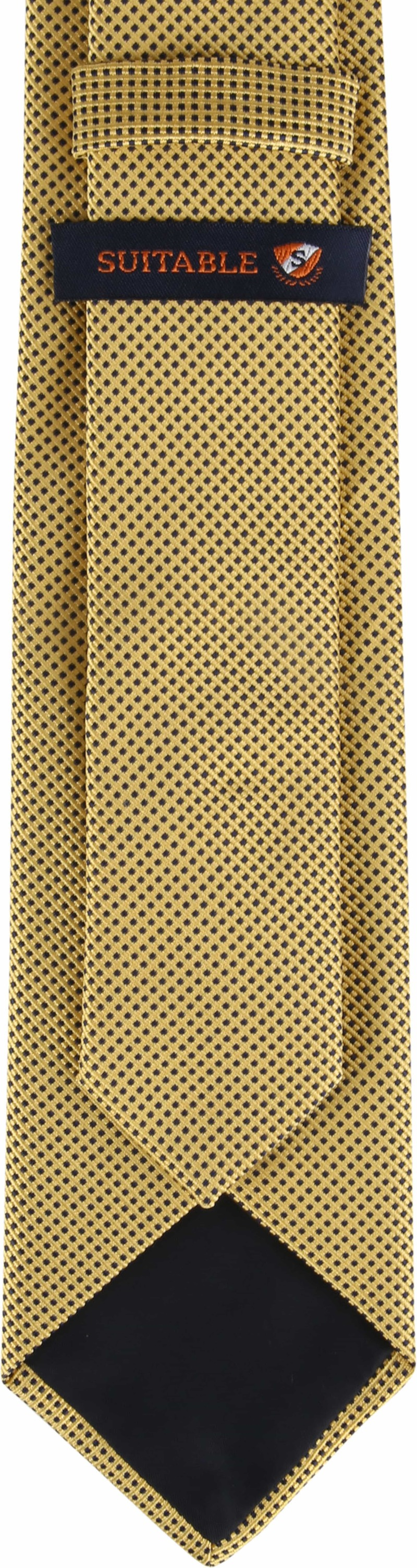 Suitable Krawatte Gelb F01-05 Foto 2