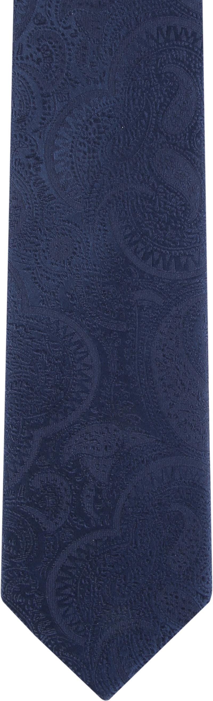 Suitable Krawatte Paisley Dunkelblau Foto 1