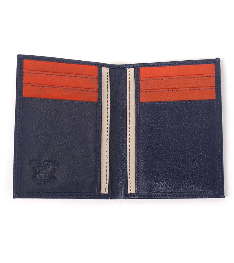 Suitable Kreditkarte Etui Blau