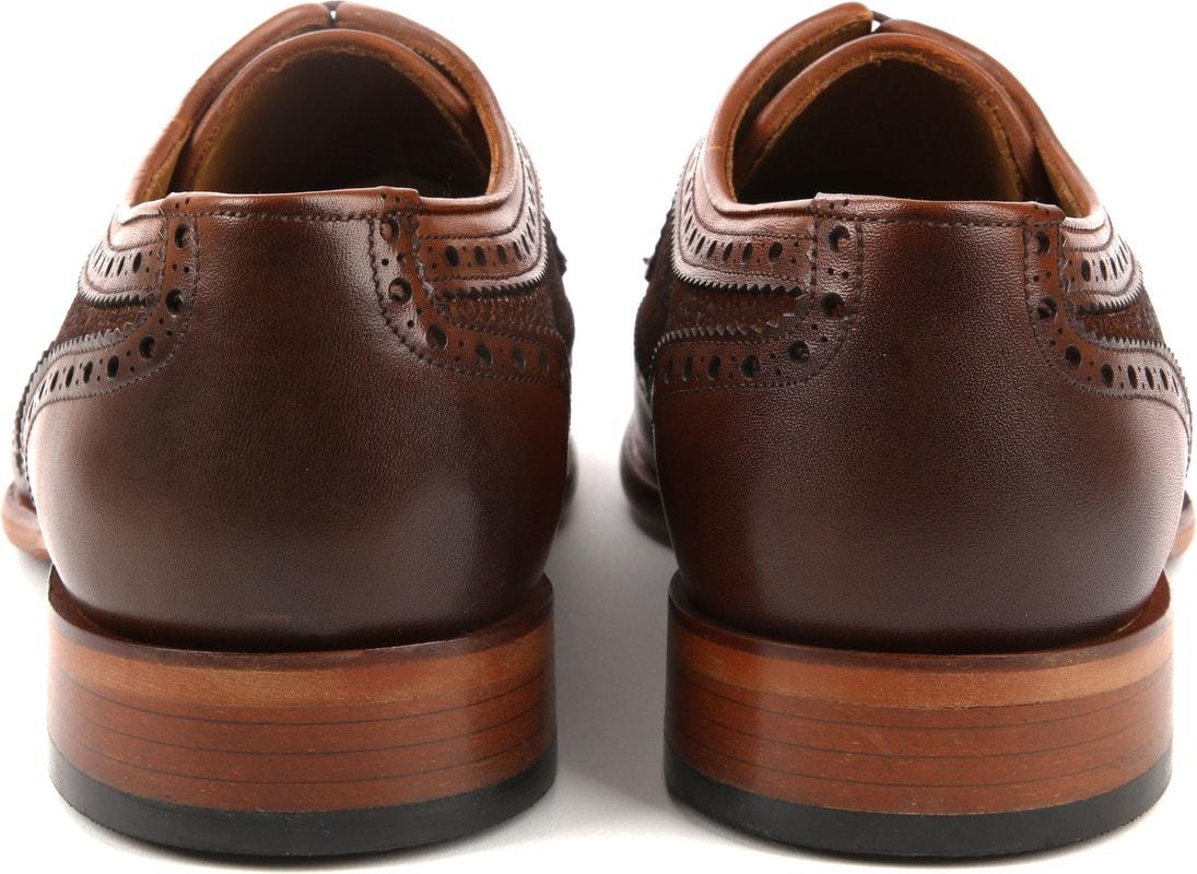 Suitable Leather Shoe Dessin Cognac photo 2