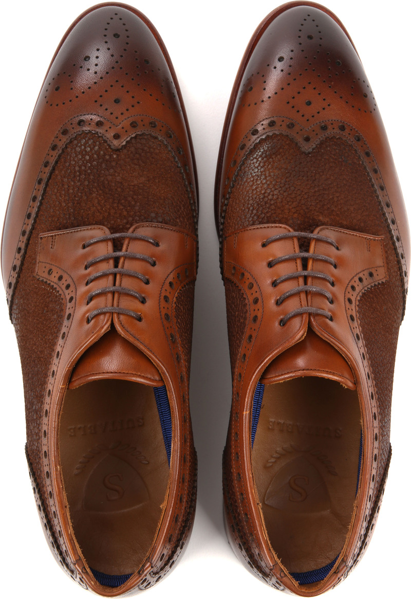 Suitable Leather Shoe Dessin Cognac photo 4