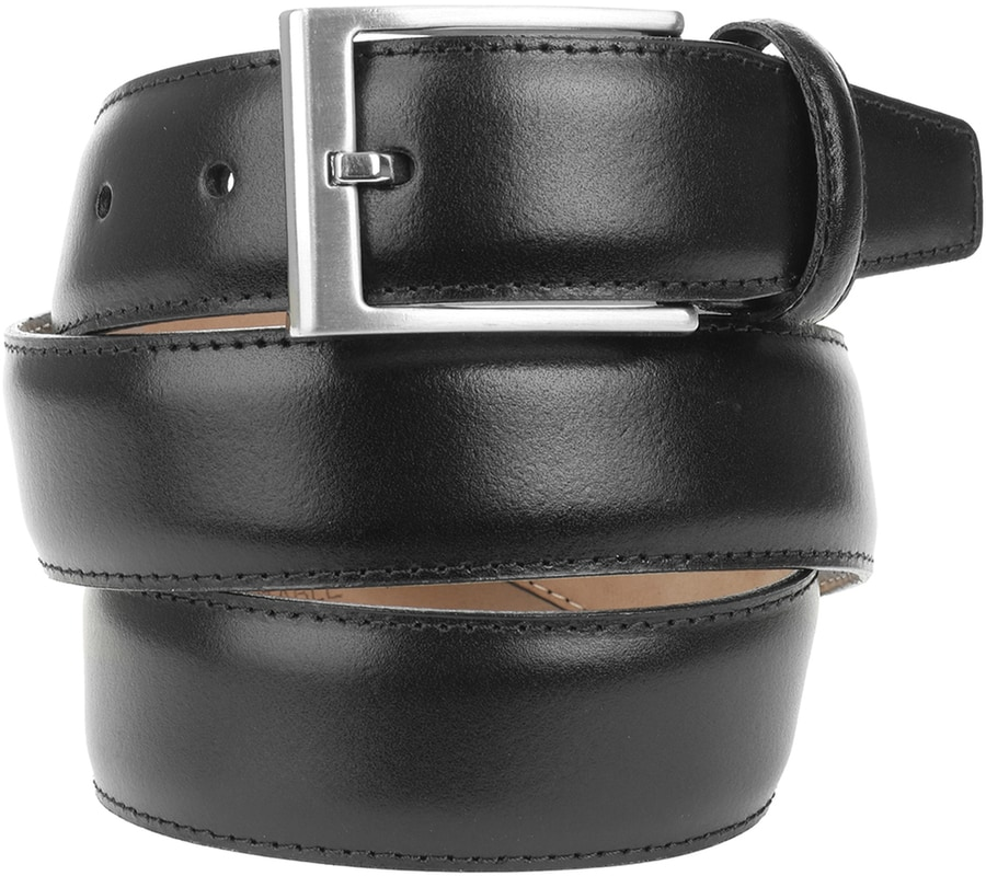 Suitable Ledergürtel Schwarz 314  online kaufen | Suitable