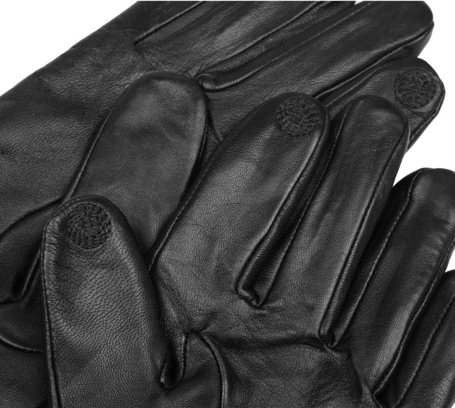 Suitable Lederhandschuhe Touchscreen Foto 2