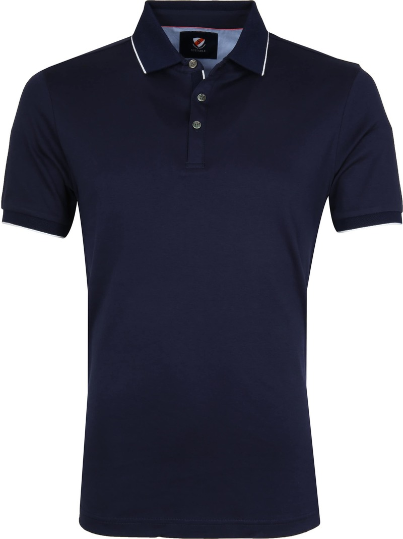 Suitable Liquid Polo Donkerblauw foto 0