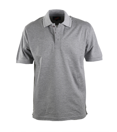 Detail Suitable Luxe Polo Grey