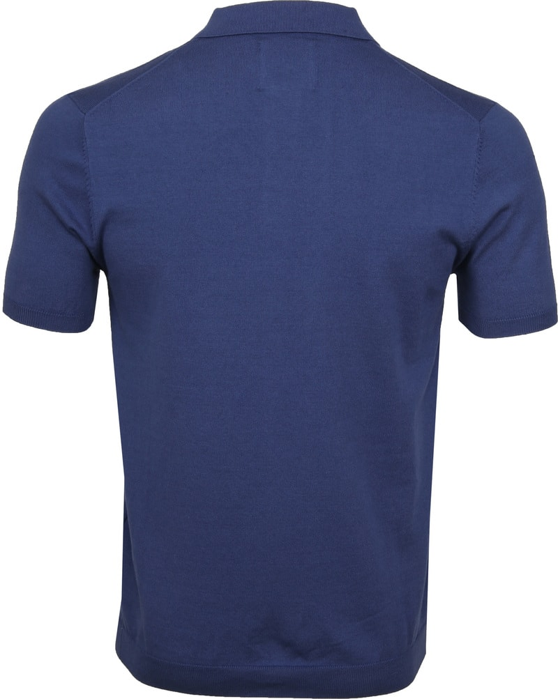 Suitable Mars Poloshirt Stretch Blue photo 3