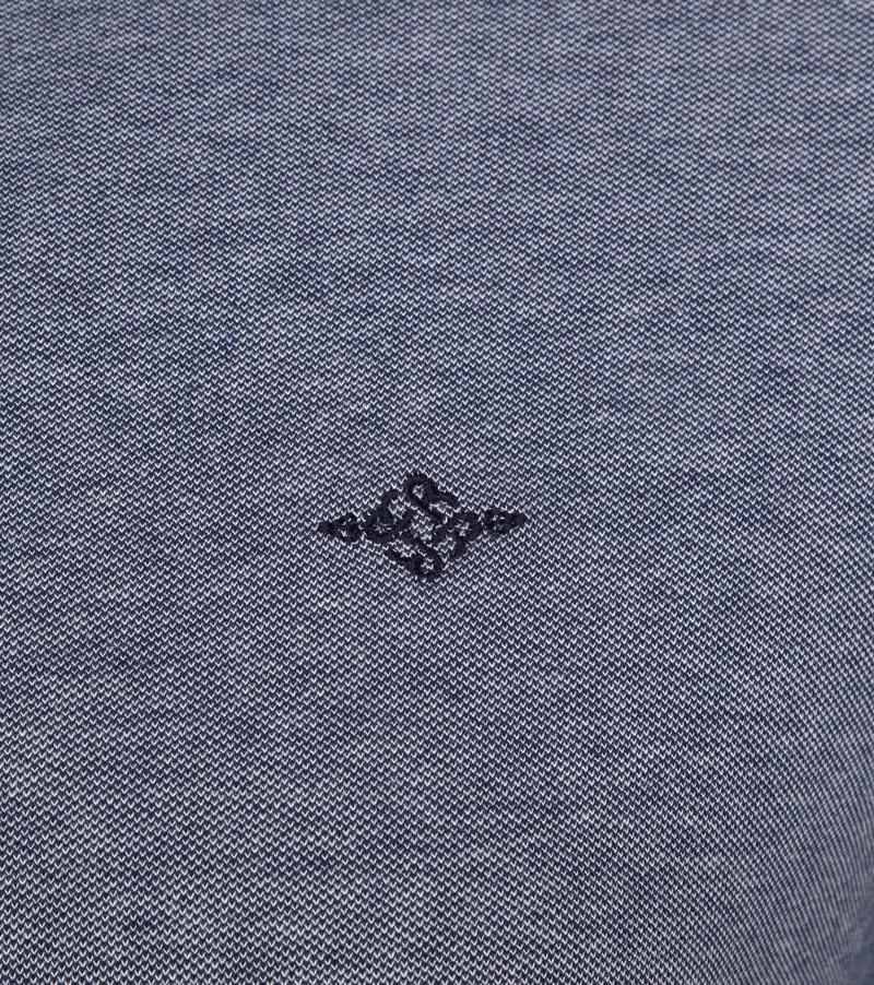 Suitable Melange Poloshirt Navy photo 2