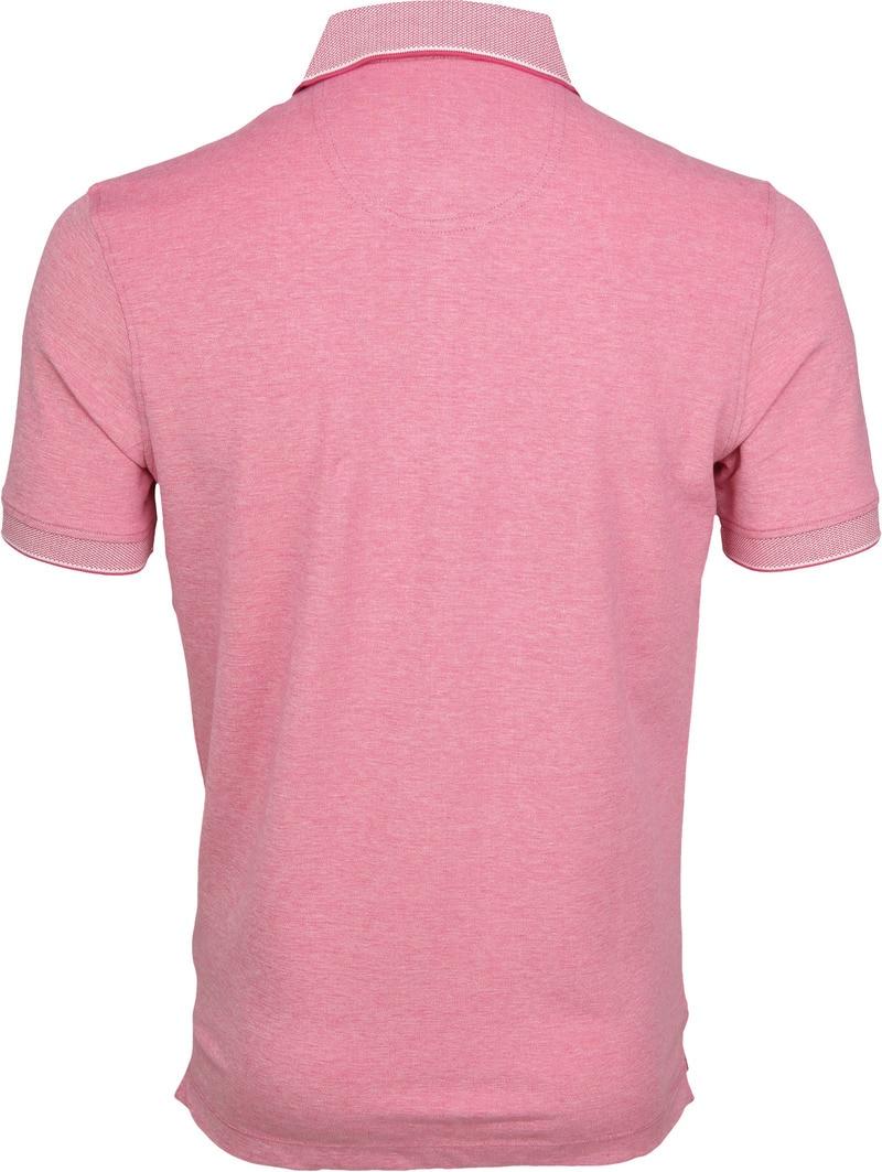 Suitable Melange Poloshirt Pink photo 3