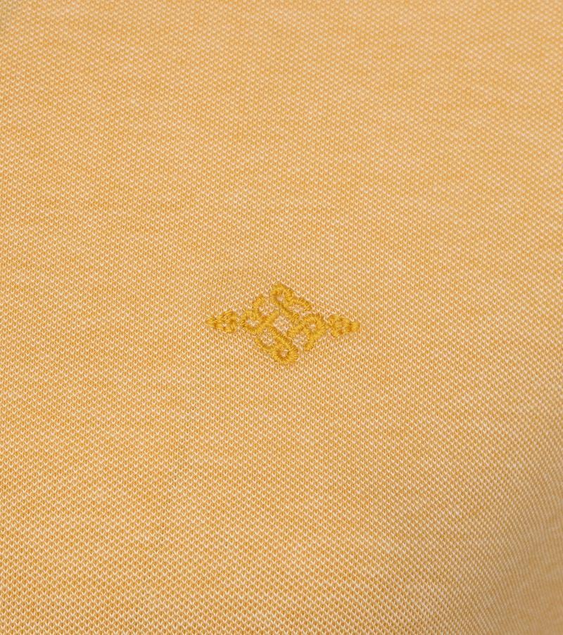 Suitable Melange Poloshirt Yellow photo 2