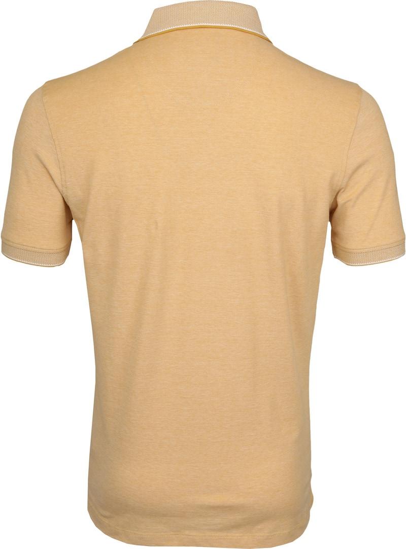 Suitable Melange Poloshirt Yellow photo 3