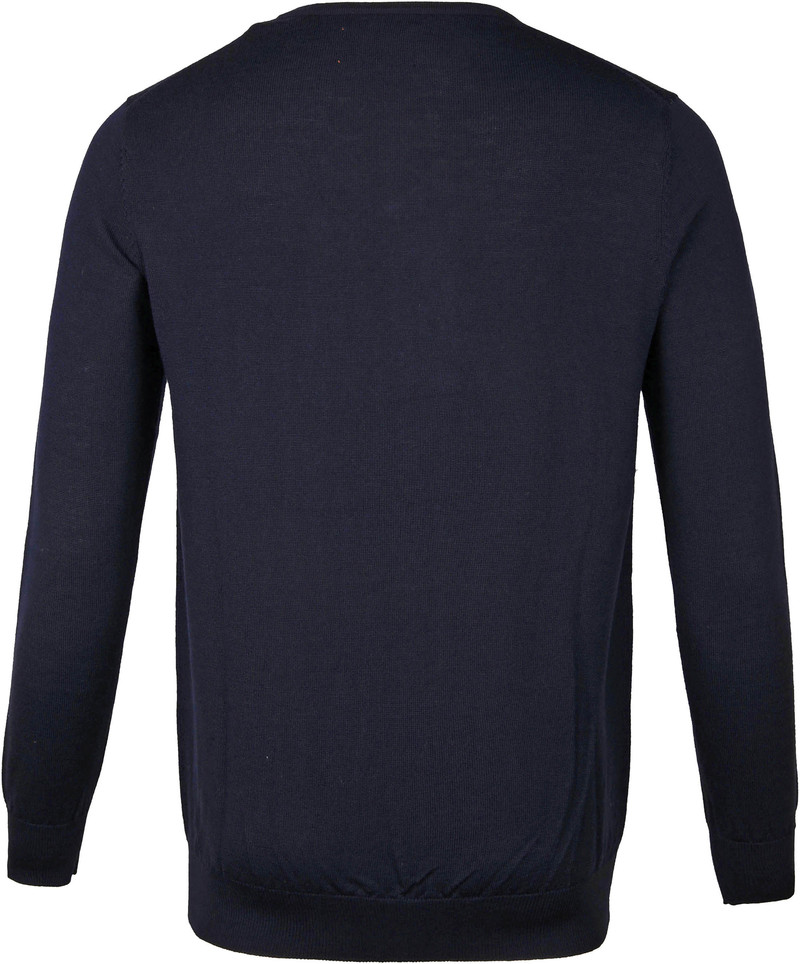 Suitable Merino Pullover Aron Navy