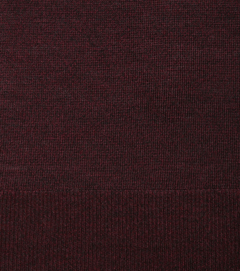 Suitable Merino Pullover Bordeaux foto 2