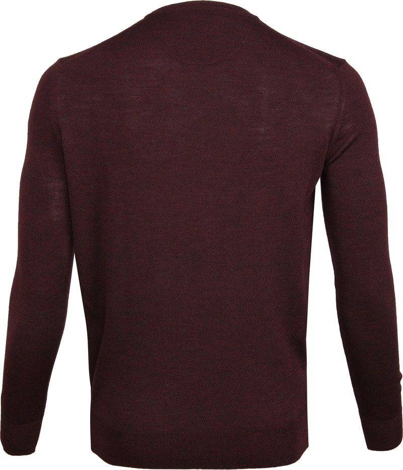 Suitable Merino Pullover Bordeaux foto 3