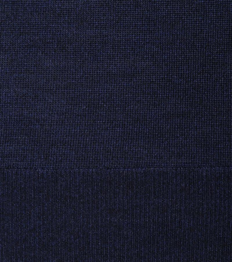 Suitable Merino Pullover O-Hals Navy foto 2