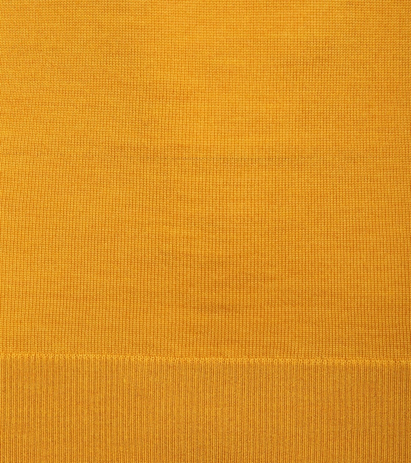 Suitable Merino Pullover R-Neck Ocher photo 2