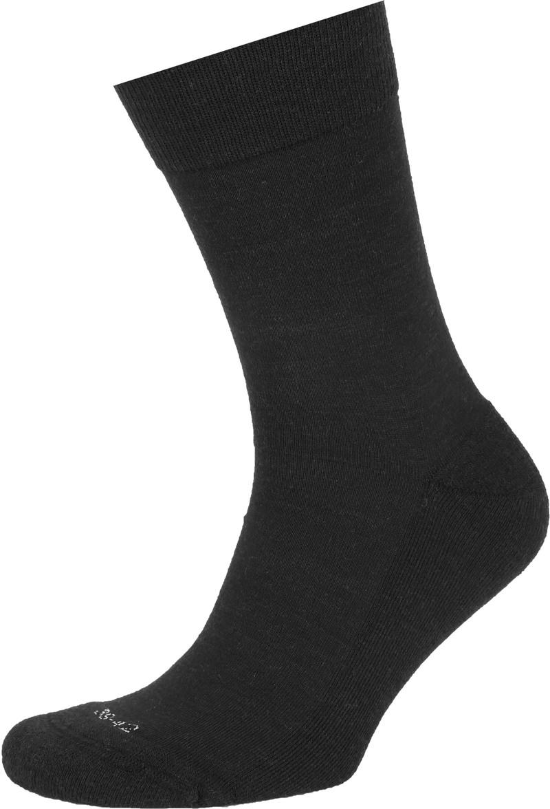 Suitable Merino Sokken Zwart 6-Pack