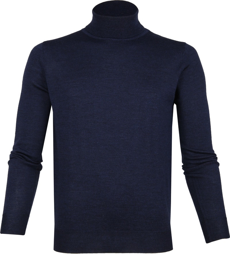 Suitable Merino Turtleneck Navy photo 0