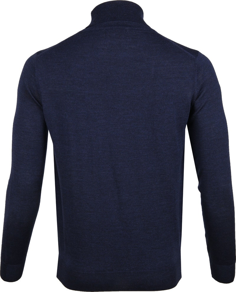 Suitable Merino Turtleneck Navy photo 3