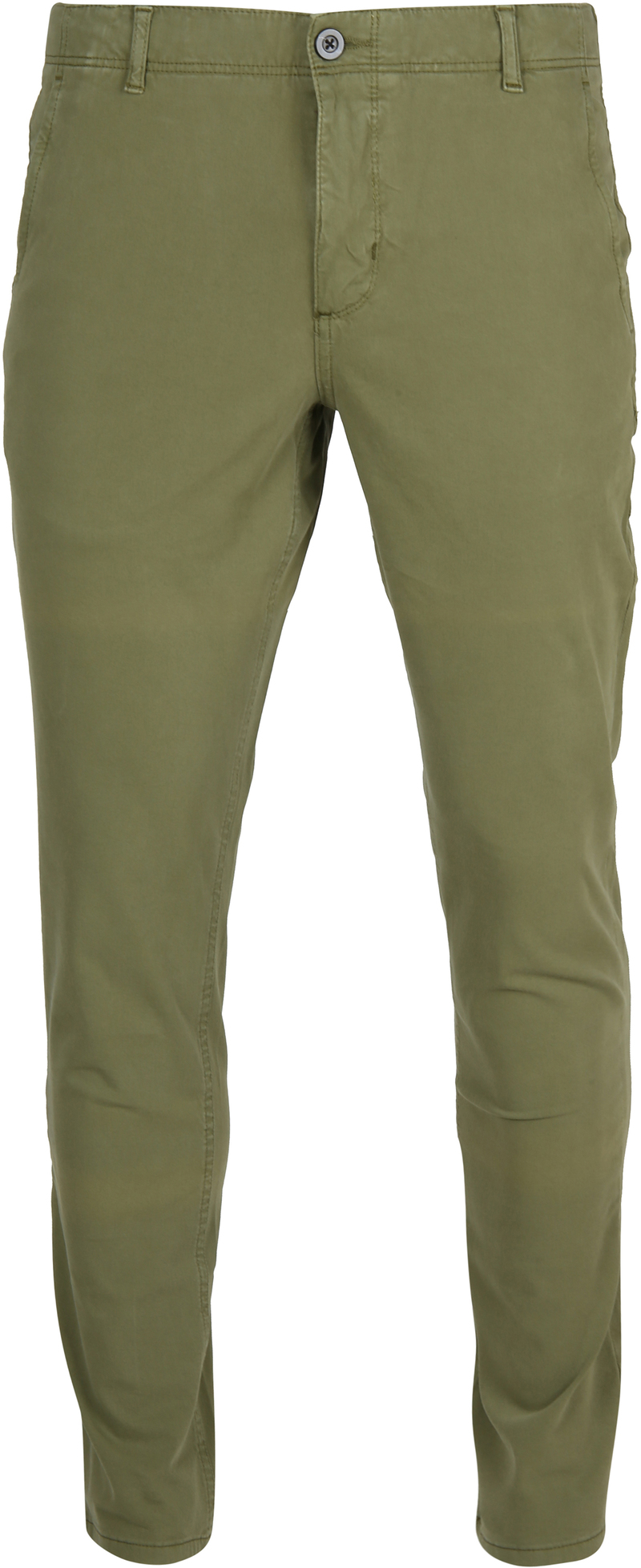 Suitable Milton Skinny-Fit Chino Groen foto 0
