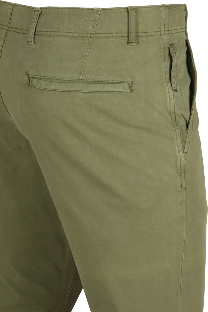 Suitable Milton Skinny-Fit Chino Groen foto 1