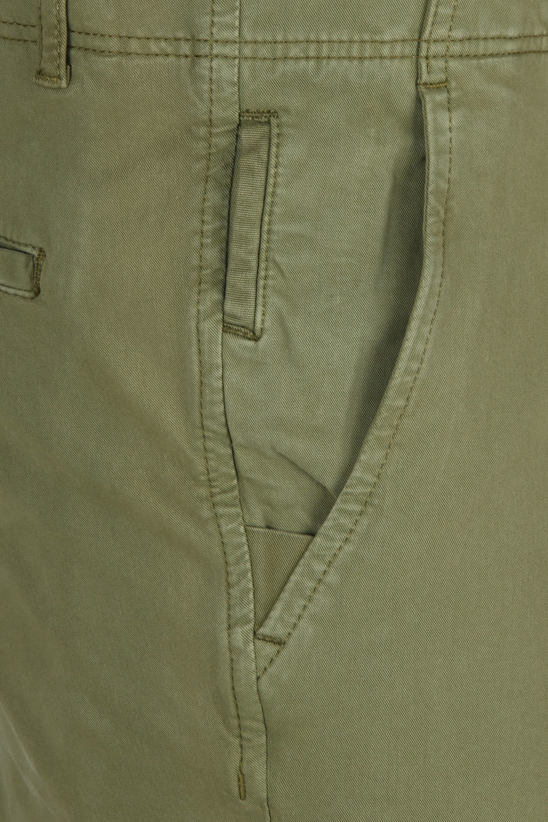 Suitable Milton Skinny-Fit Chino Groen foto 3