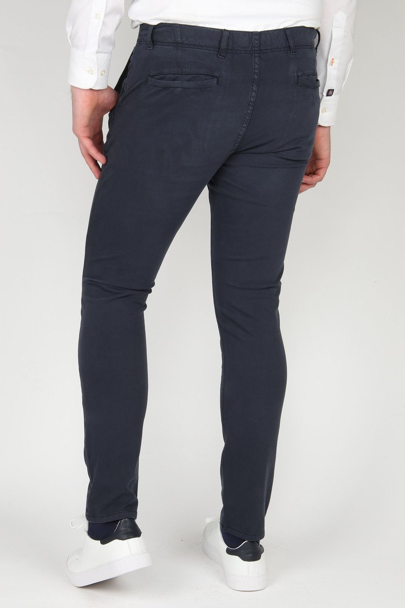 Suitable Milton Skinny-Fit Chino Navy