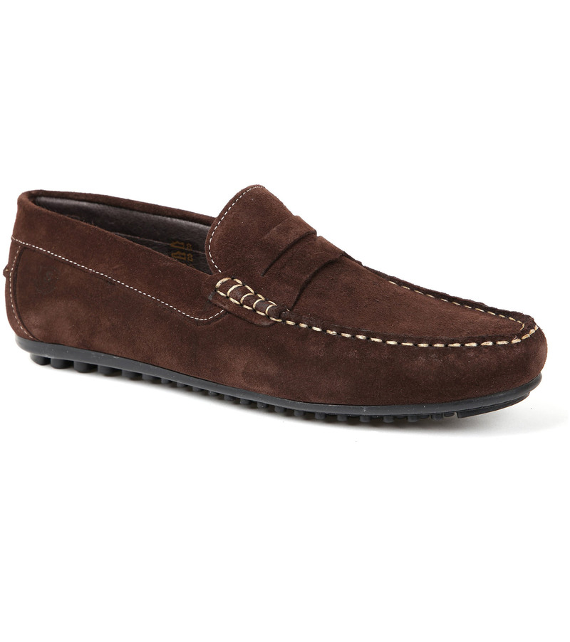 Suitable Moccassin Braun Foto 0