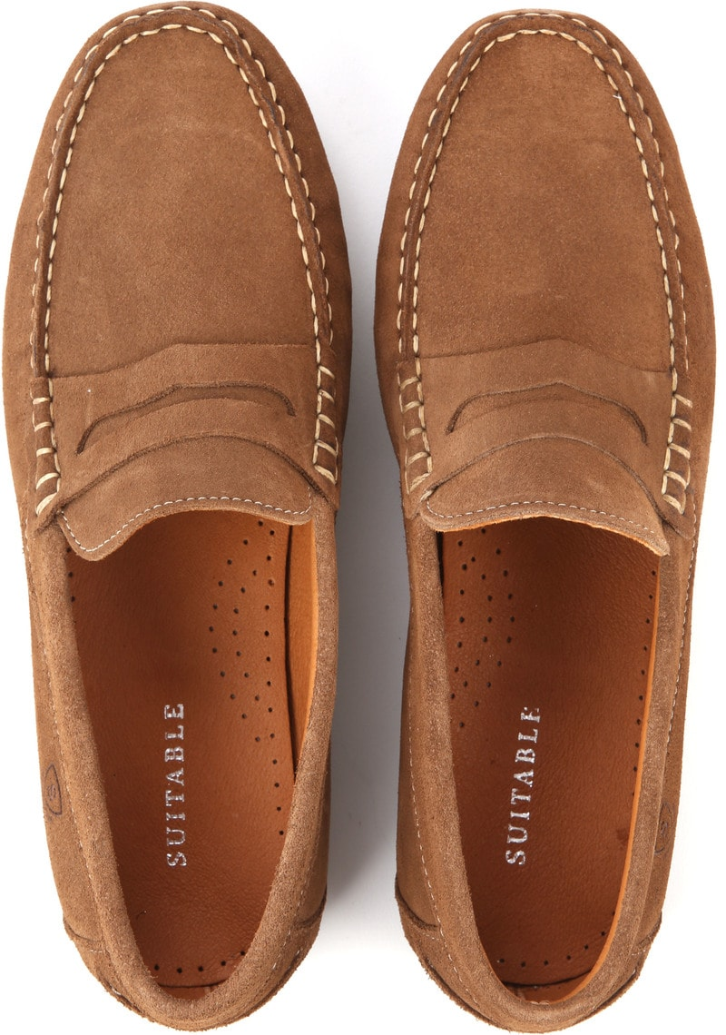 Suitable Moccassin Cognac foto 2