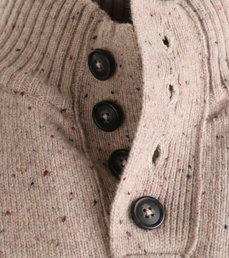 Detail Suitable Mocker John Beige