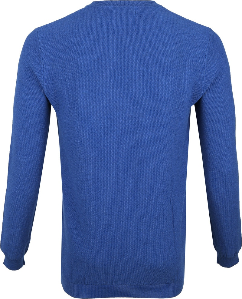 Suitable Neil Pullover Blue photo 3