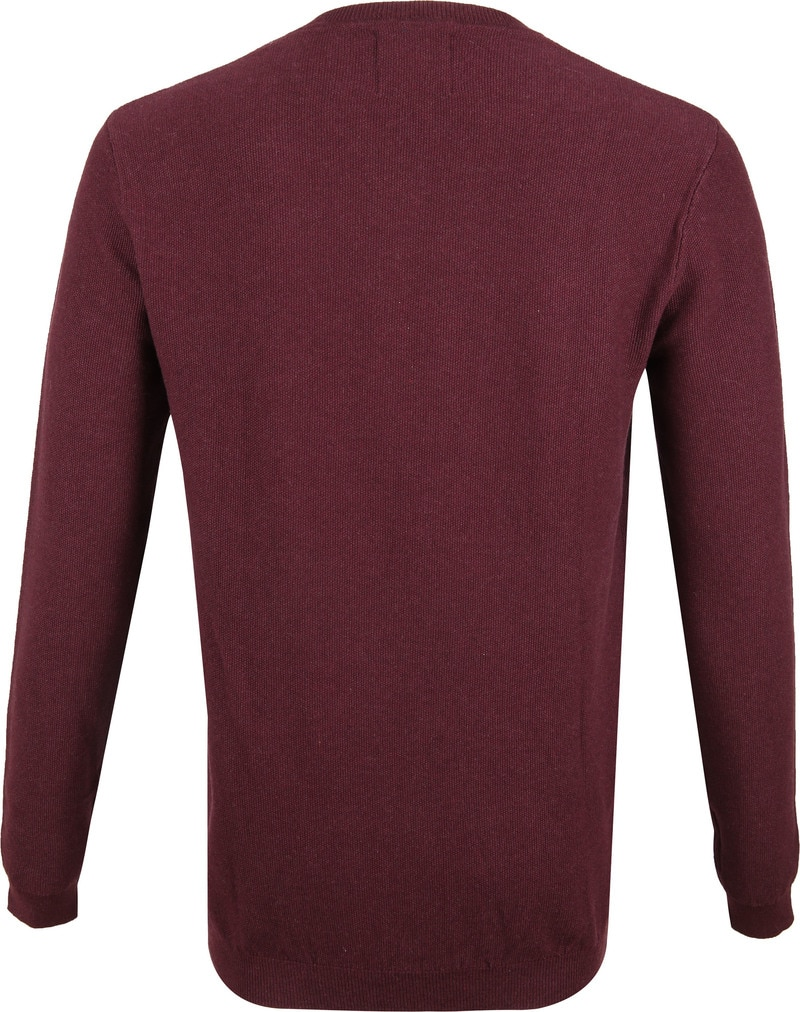 Suitable Neil Pullover Bordeaux foto 3