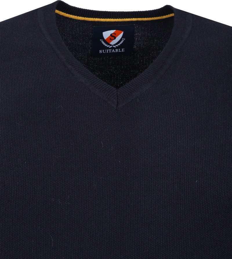 Suitable Neil Pullover Navy foto 1