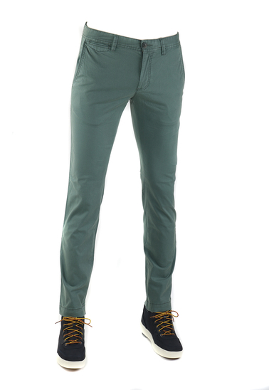 Suitable Oakville Chino Groen Print  online bestellen | Suitable