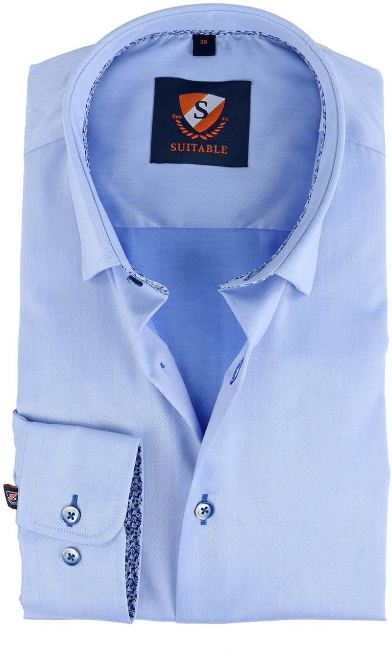 Suitable Overhemd Blauw  online bestellen | Suitable