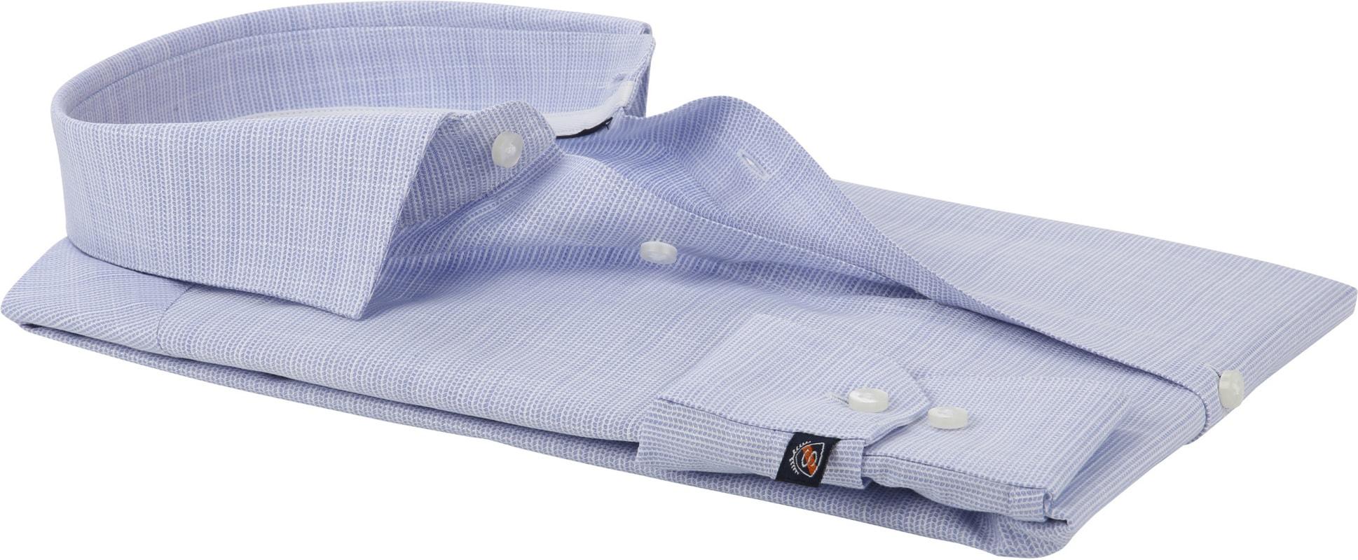 Suitable Overhemd Blauw WS foto 3