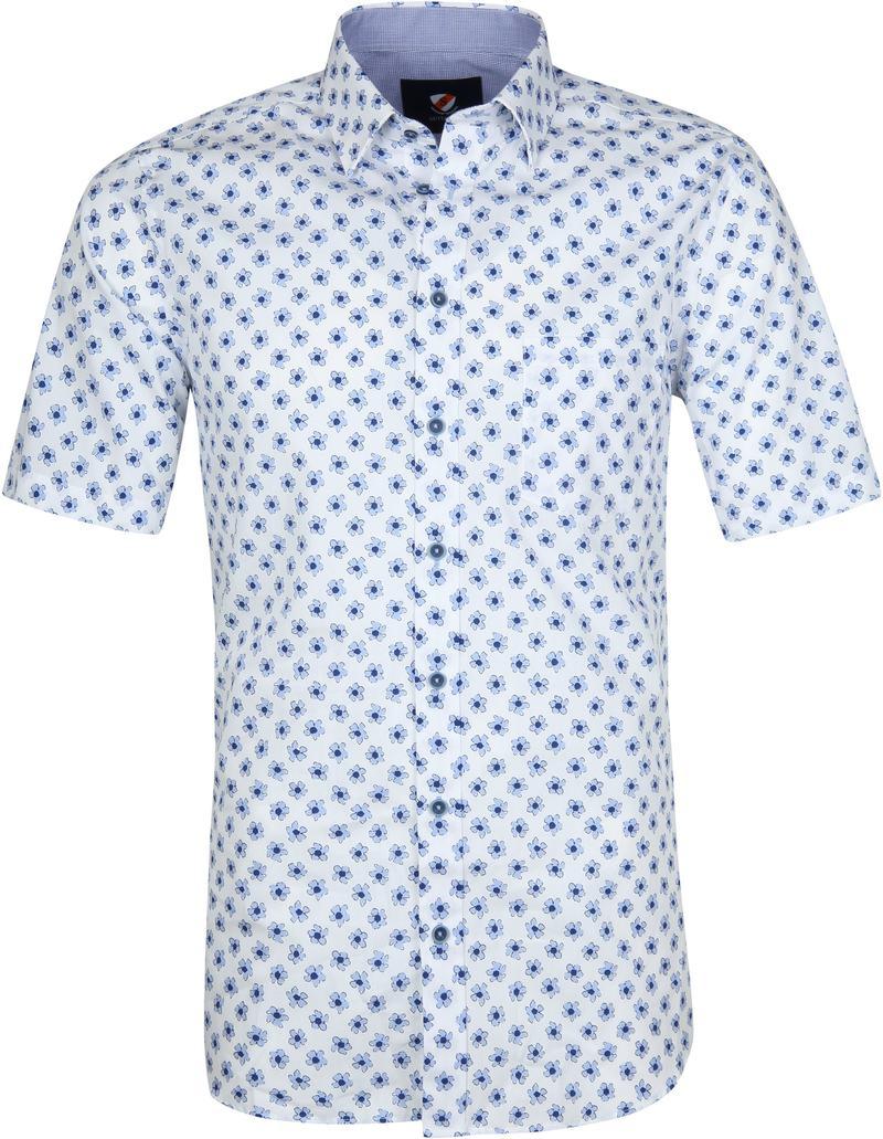 Suitable Overhemd Bloemen Lichtblauw foto 0