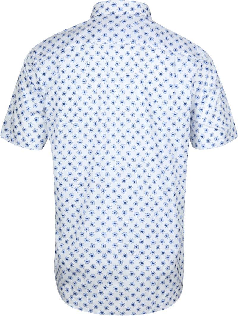 Suitable Overhemd Bloemen Lichtblauw foto 3