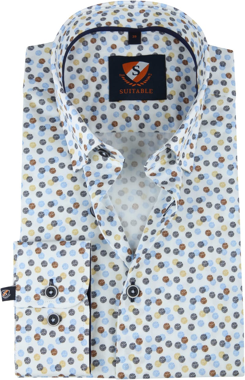 Suitable Overhemd Dandelion Multicolour foto 0