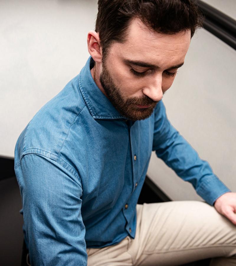 Suitable Overhemd Denim 156-7 foto 3