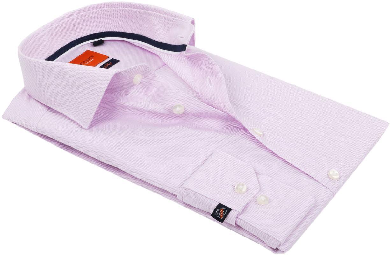 Suitable Overhemd Dobby Roze foto 3