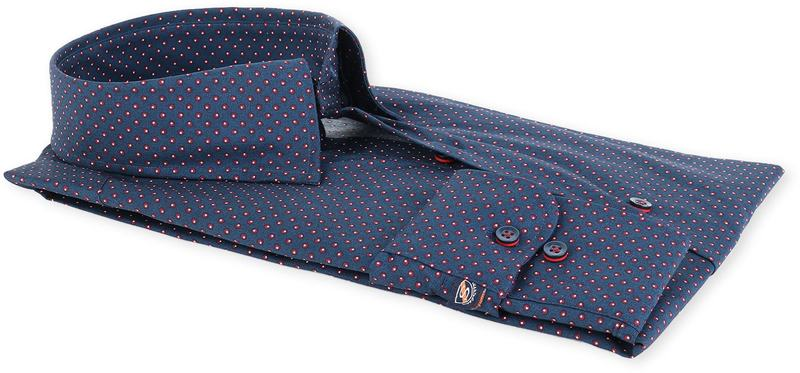 Suitable Overhemd Donkerblauw 134-4 foto 2