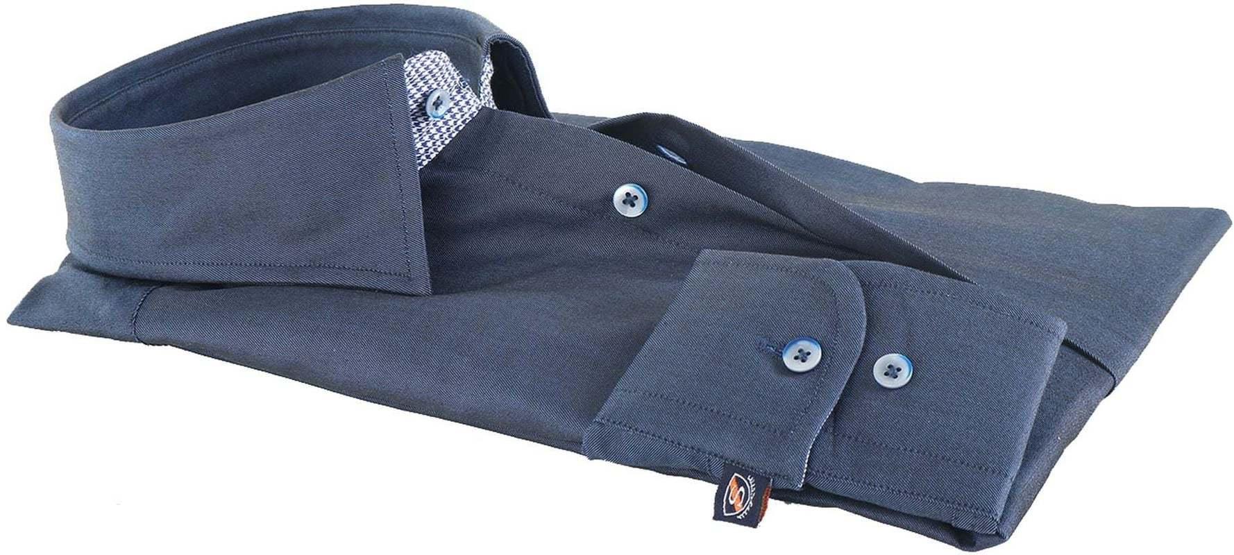 Suitable Overhemd Donkerblauw 145-3 foto 2